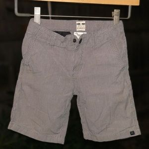 Quiksilver chinos board shorts little boys